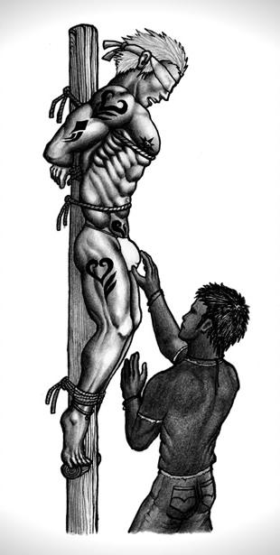 DRTKK HOMO BDSM ART : MILKCOW MAGAZINE, GAY FETISH ...